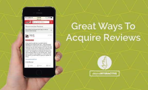 Great ways to acquire reviews