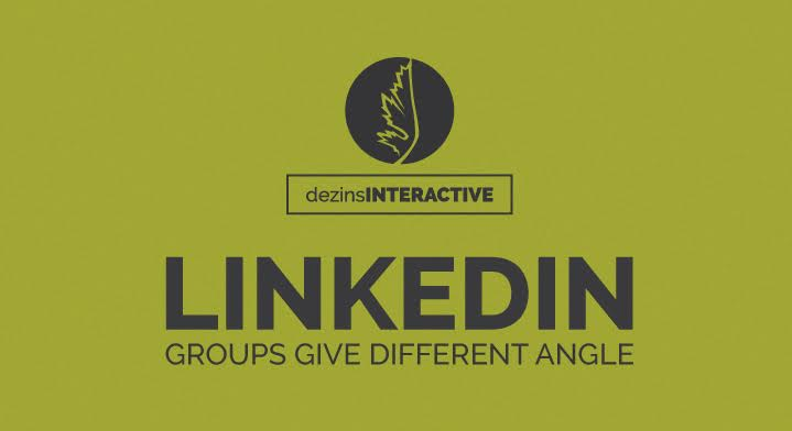 LinkedIn: Groups Give Different Angle
