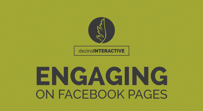 Engaging on Facebook Pages