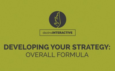 Developing Your Strategy: Overall Formula