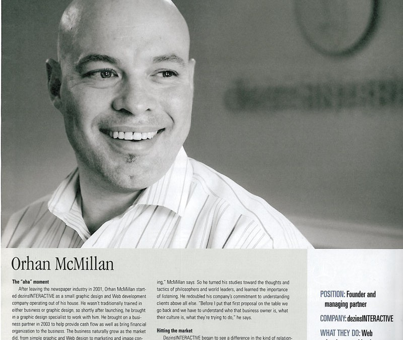 Baton Rouge Business Report Entrepreneur Feature Orhan Mc Millan