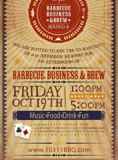 BBQ, Business and Brew Event