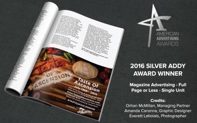 2016 SILVER ADDY AWARD