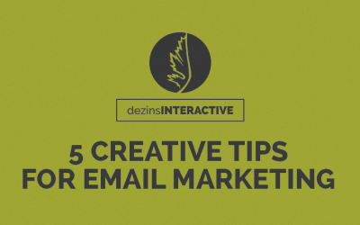 5 Tips on Creative Email Marketing