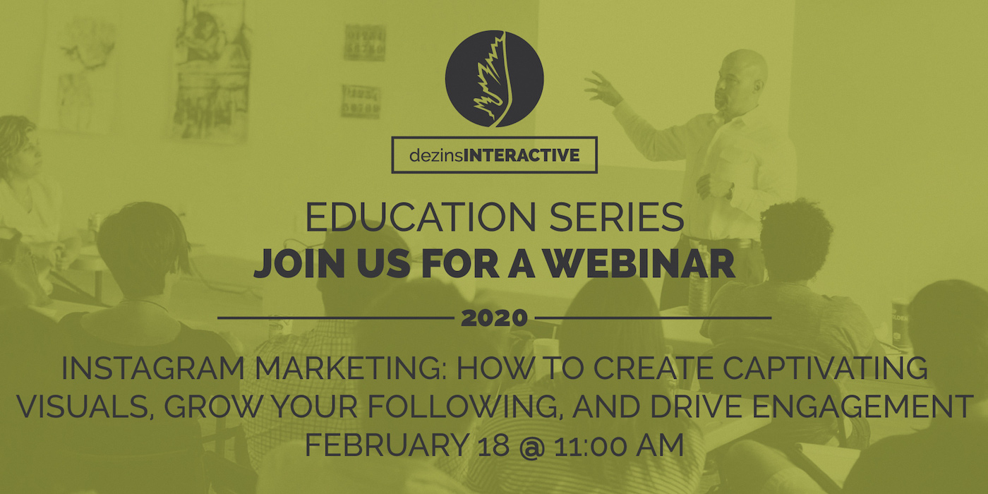 WEBINAR: Instagram Marketing: How to Create Captivating Visuals, Grow Your Following, and Drive Engagement