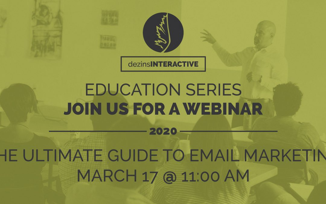 WEBINAR: The Ultimate Guide To Email Marketing