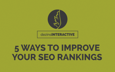 5 Ways to Improve Your SEO Rankings