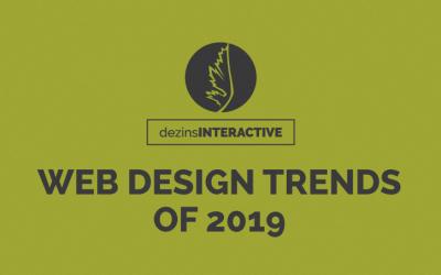 Web Design Trends of 2019