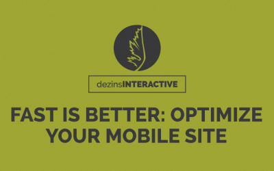 Fast is better: Optimize your mobile site