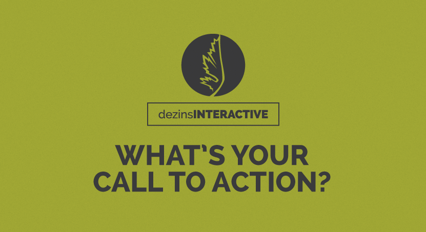What's Your Call to Action?
