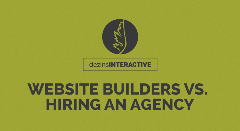 Website Builders vs. Hiring an Agency