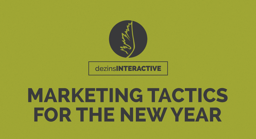 Marketing Tactics for the New Year