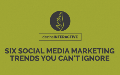 Six Social Media Marketing Trends You Can't Ignore