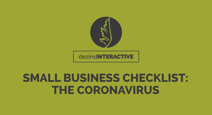 Small Business Checklist: The Coronavirus