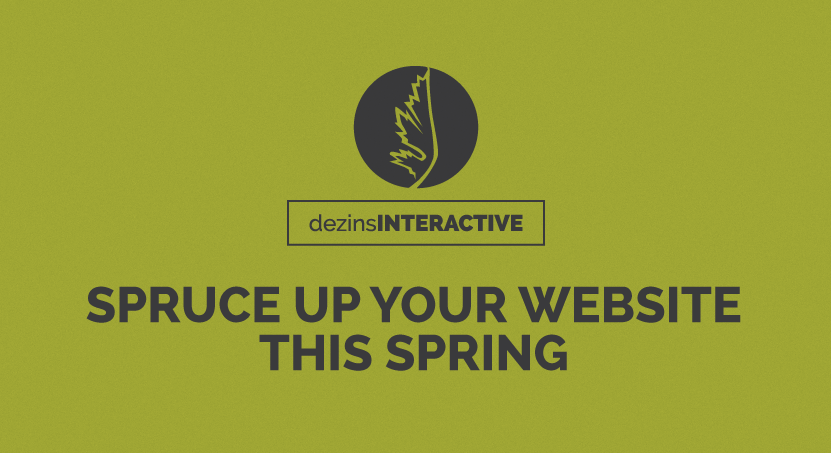 Spruce Up Your Website This Spring